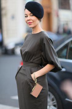 Ulyana Sergeenko at Paris Fashion Week Spring 2013