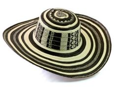 Sombrero Vueltiao Quinciano - a cultural symbol of Colombia woven from cana  flecha. 33f868dafeb