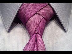 Você sabe fazer um nó de gravata chic e que impressiona ?