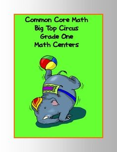 The math centers included in this document are sure to be a big top hit with your students. Just print, cut, and laminate. They are aligned to the Grade 1 Math Common Core Standards.    This 35-page document includes FIVE math centers to provide a fun way to reinforce:    Fractions  Word Problems  Geometric Solids  Money Word Problems  Algebraic Expressions  Addition Concepts  Subtraction Concepts  Subtraction With Regrouping