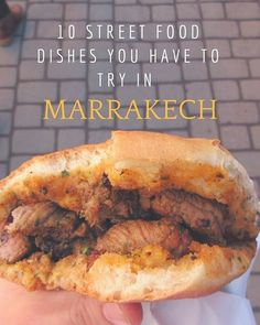 The best Street Food to try in Marrakech Morocco In case someone of you is planning on going there Read here httpbufflykGYb