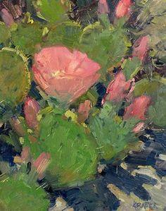 First Bloom by Bill Cramer Oil ~ 10 x 8