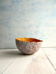 Yellow paper bowl | Flickr - Photo Sharing!