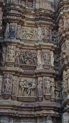 "See 26 photos and 1 tip from 222 visitors to Khajurāho. ""One of the best temples in India. Indian Architecture, Maybe Someday, Hindu Temple, Temples, Krishna, Four Square, Places To Visit, Sculptures, Building"