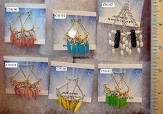 $5 www.jazbjewelry.com enamel chandelier Mother of pearl