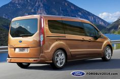 2014 Ford Transit Connect Wagon rear