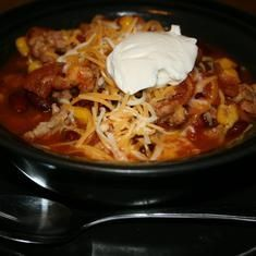 Original Taco Soup Crockpot Recipe, I've made this on the stove. This was my moms recipe.