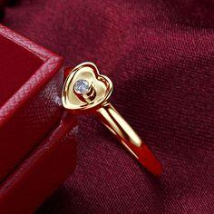 Deux Tons Argent 925 Floral Bague saphir bleu Daisy Bague De Fiançailles Taille 5-11 #