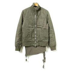 bomber jacket with bumflap (it 40) • helmut lang¥11,124