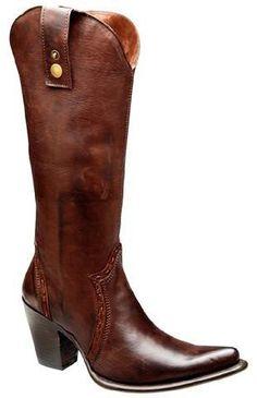 Cuadra Genuine Calf Leather Boots Black - silveradowesternwear - 1