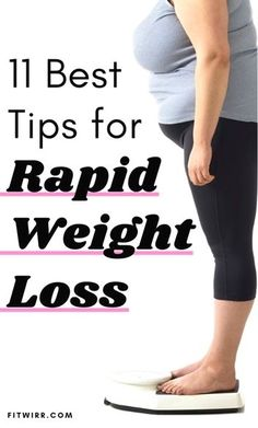 How to Lose Weight Fast - 21 Effective Tips - Fitwirr