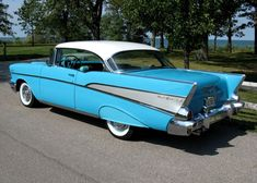 On everything, I will own one someday! '57 Chevy Bel Air.