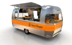 The Veuve Clicquot Airstream hits the streets of Singapore this month, kicking off the first-leg of its Asia tour with a four-day appearance at Savour 2013, Singapore's largest gourmet food festival. Guests will be able to indulge in a glass, half-bottle or full bottle of Veuve Clicquot Brut Yellow Label champagne!