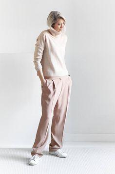 Light Pink Lovely Palazzo Pants