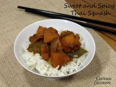 Sweet and Spicy Thai Squash from Curious Cuisiniere