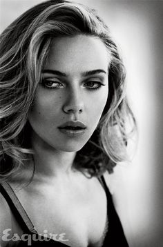 Scarlett Johansson by Vincent Peters for Esquire USA november 2013
