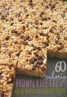 60 Calorie Brown Rice Crips