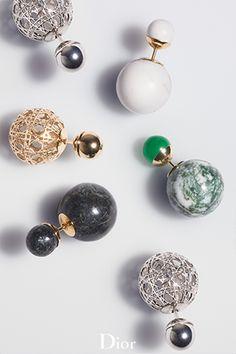The 'DiorTribale' earrings.