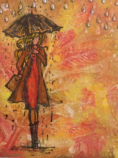 Treasured Moments of Inspiration: Autumn Colours at Mixed Media World this month