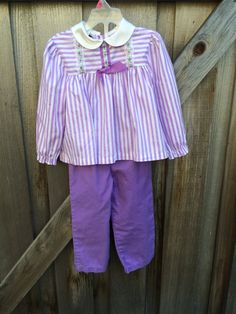 Vintage Purple Outfit Toddlers 2/3 by lishyloo on Etsy