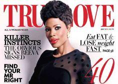 SA Actress, Winnie Ntshaba Covers True Love Magazine July '14