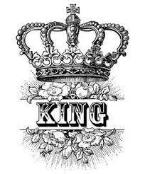 King crown tatto