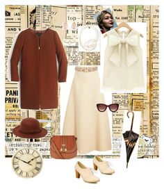"""""""Vintage time!"""" by chryssalice ❤ liked on Polyvore featuring Emilia Wickstead, Salvatore Ferragamo, Rusty, J.Crew, Thierry Lasry, Loewe, Kenneth Jay Lane, STELLA McCARTNEY, Irene Neuwirth and vintage"""