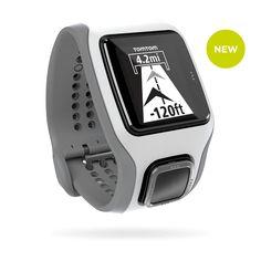 TomTom Runner Multisport Cardio White/Grey