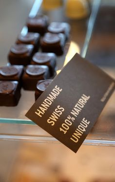Why are Swiss chocolates the best in the world