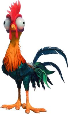HEIHEI The ROOSTER Wild Bird of Disney's MOANA movie - WindoCling Stick-On Decal | Collectibles, Disneyana, Contemporary (1968-Now) | eBay!