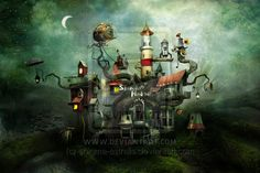 'The Sleeping House' by Alexander Jansson