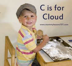 Mommy Lessons 101: C is for Cloud Lesson Plan for Preschoolers!