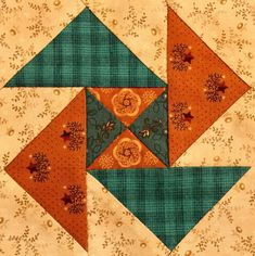 Block - no directions Quilt Block Patterns, Pattern Blocks, Quilt Blocks, Quilting Projects, Quilting Designs, Flying Geese Quilt, Quilt Of Valor, Traditional Quilts, Quilting For Beginners
