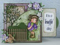 A slider card featuring 'Hello Little Butterfly.'