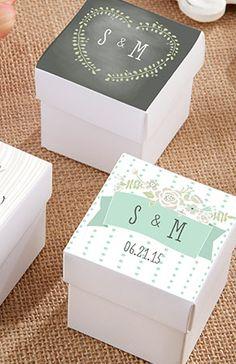 Cute favor boxes