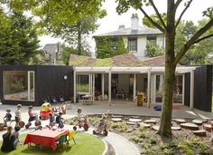 Indoor-Outdoor AY Architects: community nursery