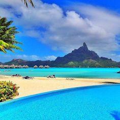 Le Meridien - Bora Bora ⠀ Photography by @MThiessen