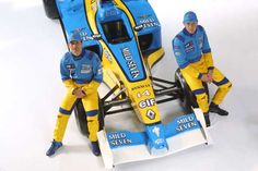 Renault comes back to Formula One 2002.  After leaving the sport as a constructor in 1985, Renault bought the Benetton team and their facilities to compete in the 2002 season. Their drivers were Jarno Trulli and Jenson Button.