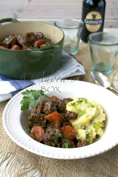 BEEF IN GUINNESS recipe for #stpatricksday by @ADORAs Box  #Irish #food