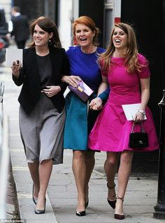 The Duchess of York and Princesses Beatrice and Eugenie had been invited to entrepreneur Ali Spencer-Churchill's Suffolk wedding, but declined in order to attend the London nuptials of model Petra Palumbo and Lord Lovat