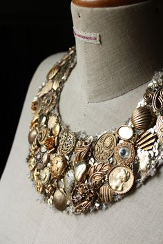 diy bib necklace.. this is gorgeous!!