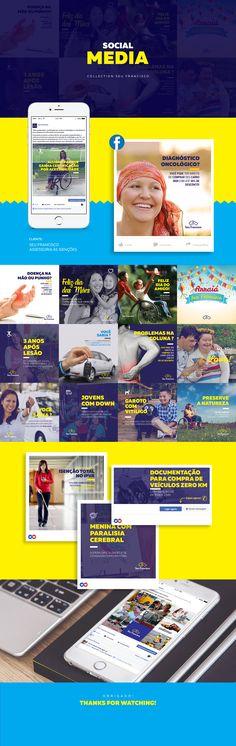 Seu Francisco - Social Media Collection on Behance
