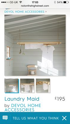 Utility room Devol, Laundry Room, Home Accessories, Organizing, Loft, Bed, Kitchen, House, Furniture