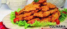 Receita de Pataniscas de bacalhau. Descubra como cozinhar Pataniscas de bacalhau de maneira prática e deliciosa com a Teleculinária!
