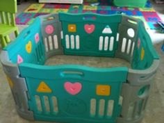 Play pens and play yards for toddlers. #PlayPen #PlayYard #Toddlers #Children