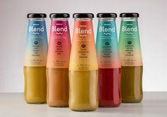 Blend Packaging Design by Siegenthaler &Co