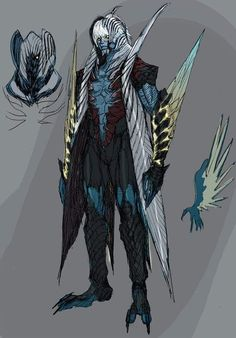 New design character game demons Ideas Fantasy Character Design, Character Concept, Character Art, Concept Art, Devil May Cry, Dnd Characters, Fantasy Characters, Cartoon As Anime, Cool Monsters