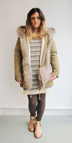 #wilcolook #moda #mujer vestido #sessun bota #felmini http://www.miinto.es/shops/b-1040-wilco