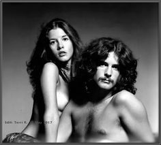 "Stevie Nicks and Lindsey Buckingham for album ""Buckingham/Nicks"" pre-Fleetwood Mac. It was the track ""Frozen"" on this album that Mick overheard from another booth and compelled him to come over to meet the duo making the sound."