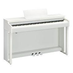 CLP625WH Yamaha Clavinova White Satin Digital Piano